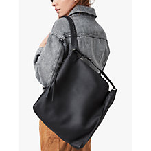 Buy AllSaints Kita Backpack, Black Online at johnlewis.com
