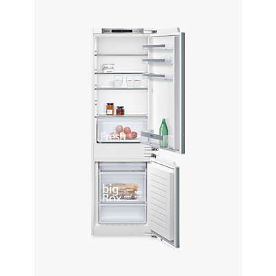 Siemens KI86NVF30G Integrated Fridge Freezer, A++ Energy Rating, 56cm Wide