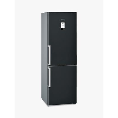Siemens KG36NAB35G Freestanding Fridge Freezer, A++ Energy Rating, 60cm Wide, Black