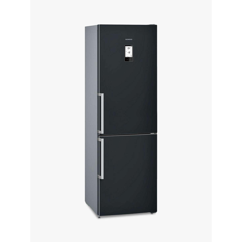 BuySiemens KG36NAB35G Freestanding Fridge Freezer, A++ Energy Rating, 60cm  Wide, Black Online At ...