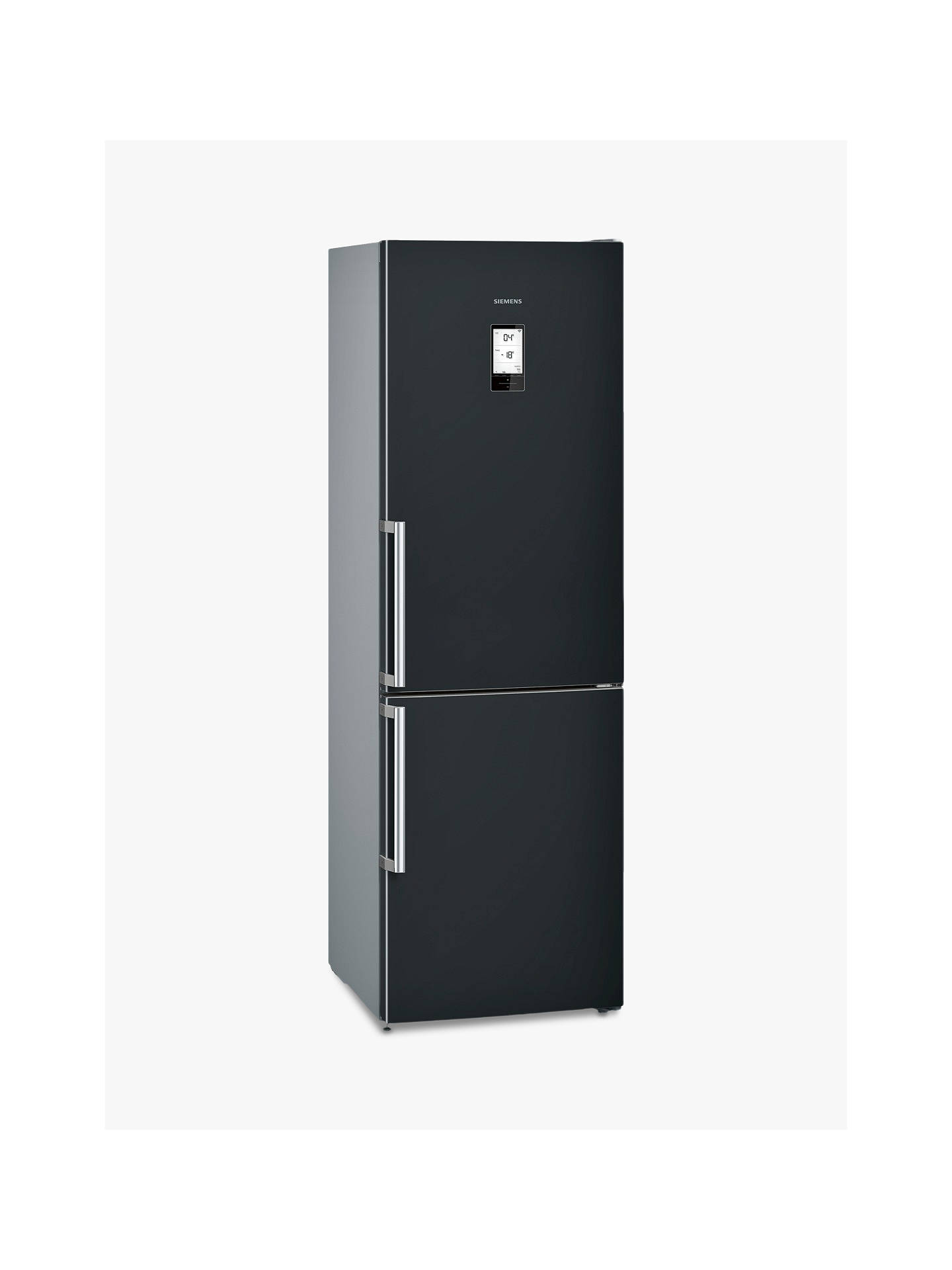 Buy Siemens KG36NAB35G Freestanding Fridge Freezer, A++ Energy Rating, 60cm Wide, Black Online at johnlewis.com