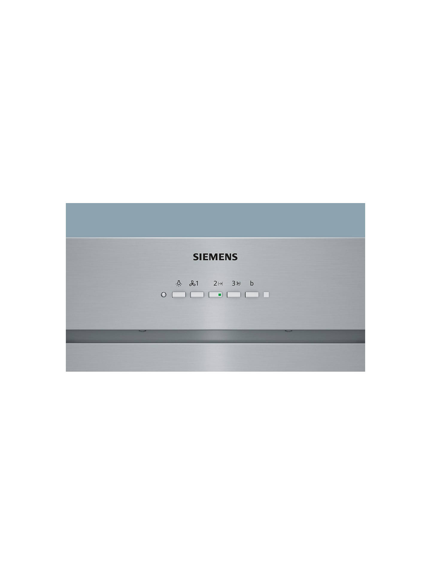 BuySiemens LB79585GB Integrated Canopy Hood, Stainless Steel Online at johnlewis.com