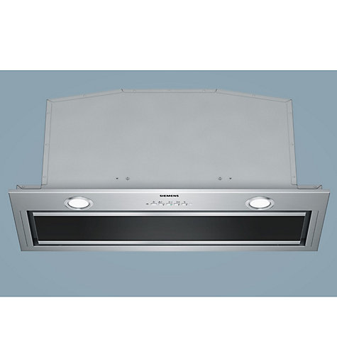 Buy Siemens LB79585GB Integrated Canopy Hood, Stainless Steel Online at johnlewis.com