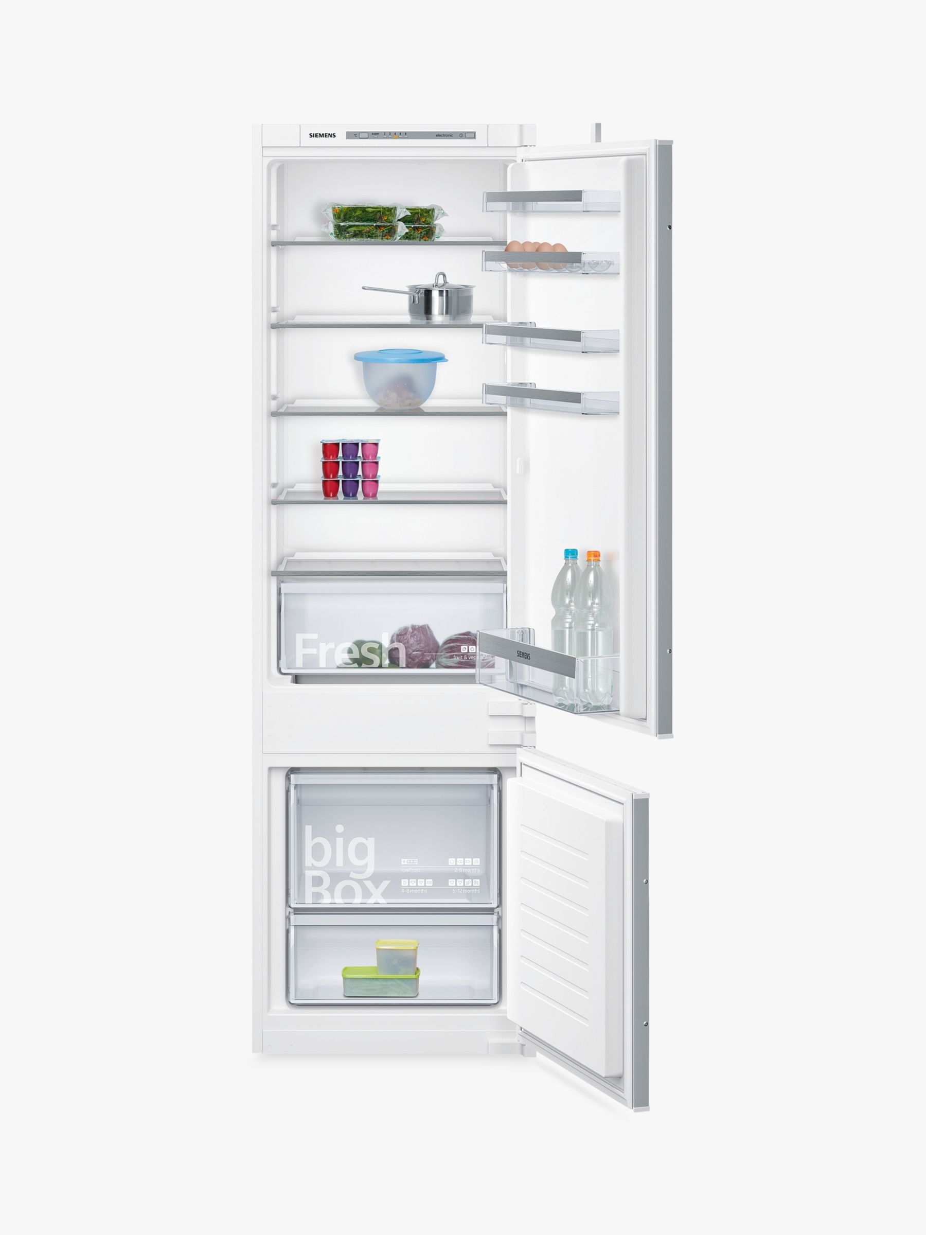 Siemens KI87VVS30G Integrated Fridge Freezer A Energy Rating