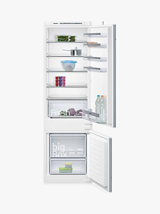Siemens KI87VVS30G Integrated 70/30 Fridge Freezer, Sliding Door Hinge, A++ Energy Rating, 56cm Wide