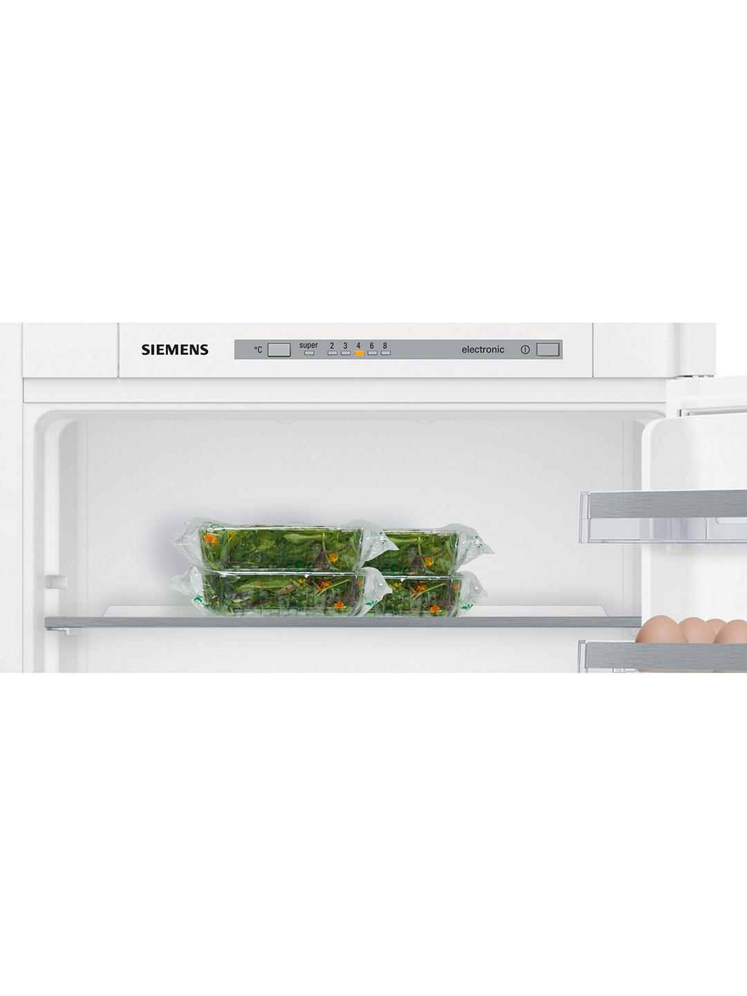 Buy Siemens KI87VVS30G Integrated 70/30 Fridge Freezer, Sliding Door Hinge, A++ Energy Rating, 56cm Wide Online at johnlewis.com