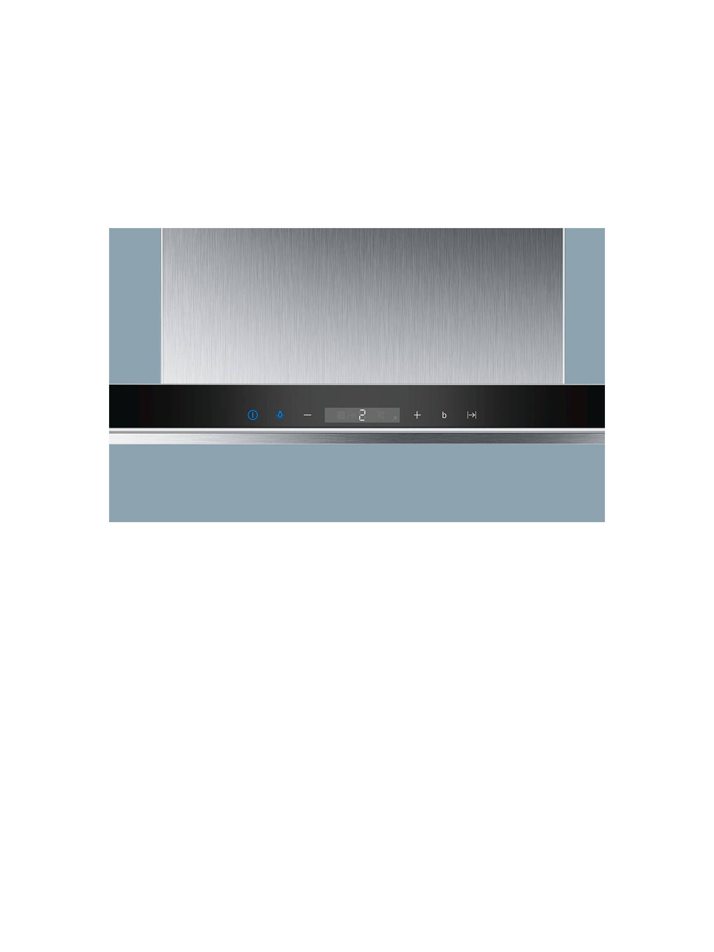 BuySiemens LC98BA572B Chimney Cooker Hood, Stainless Steel Online at johnlewis.com