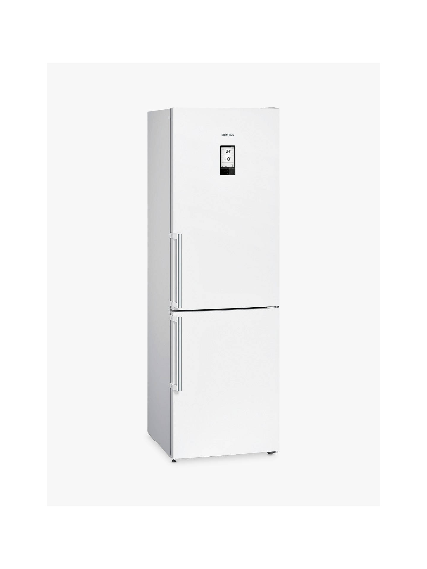 BuySiemens KG36NAW35G Freestanding Fridge Freezer with Home Connect, A++ Energy Rating, 60cm Wide, White Online at johnlewis.com