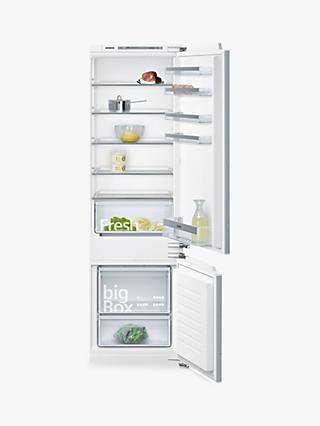 Siemens KI87VVF30G Integrated 70/30 Fridge Freezer, Fixed Door Hinge, A++ Energy Rating, White