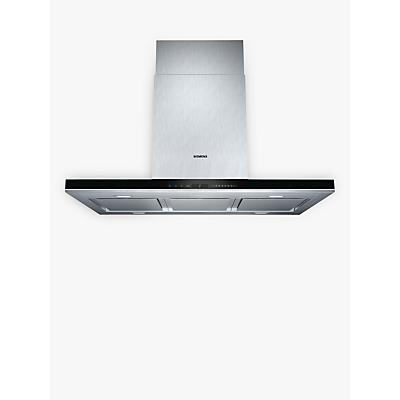 Image of Siemens iQ700 LF91BA582B Island Chimney Cooker Hood, Stainless Steel