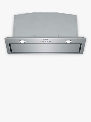 Siemens LB79585GB 70cm Canopy Cooker Hood, C Energy Rating, Stainless Steel