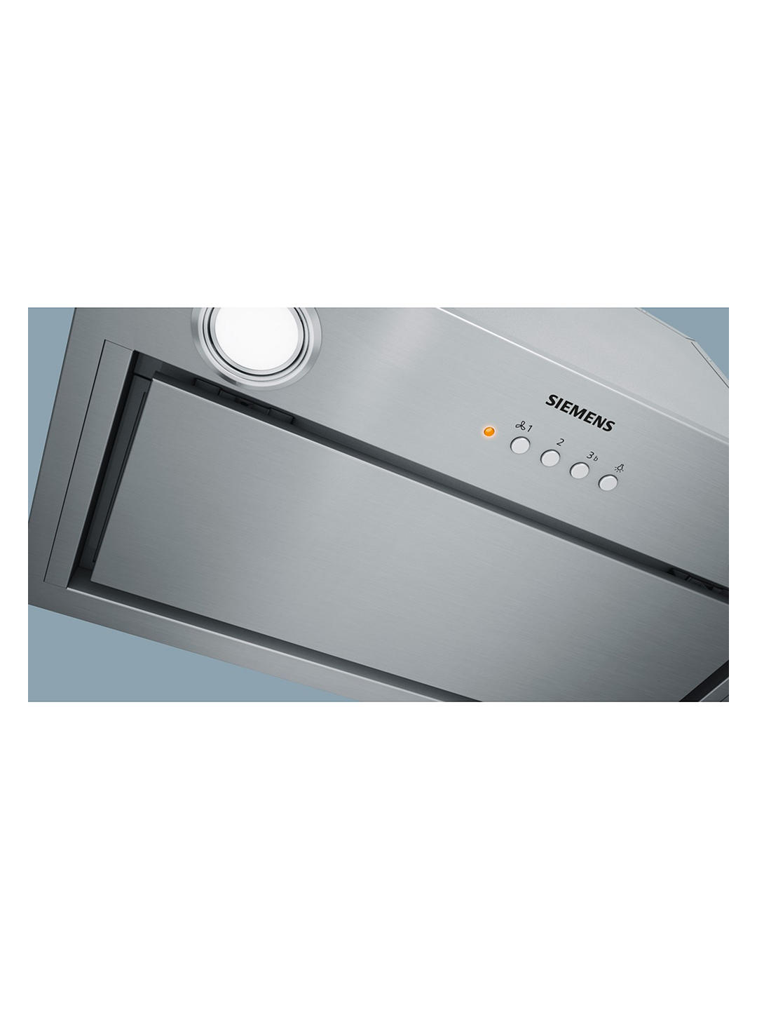 Buy Siemens LB79585GB 70cm Canopy Cooker Hood, C Energy Rating, Stainless Steel Online at johnlewis.com