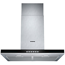 Buy Siemens LC67BF532B Chimney Hood, Stainless Steel Online at johnlewis.com
