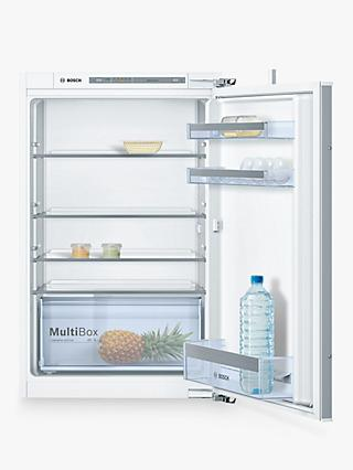 Bosch KIR21VF30G Integrated Fridge, A++ Energy Rating, 54.1cm Wide