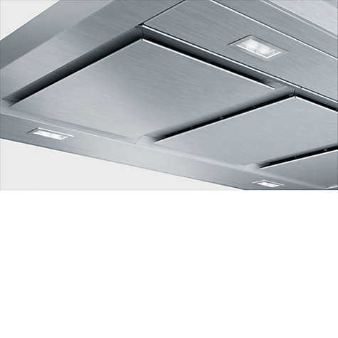 Buy Bosch DIB091K50B Island Cooker Hood, Stainless Steel Online at johnlewis.com