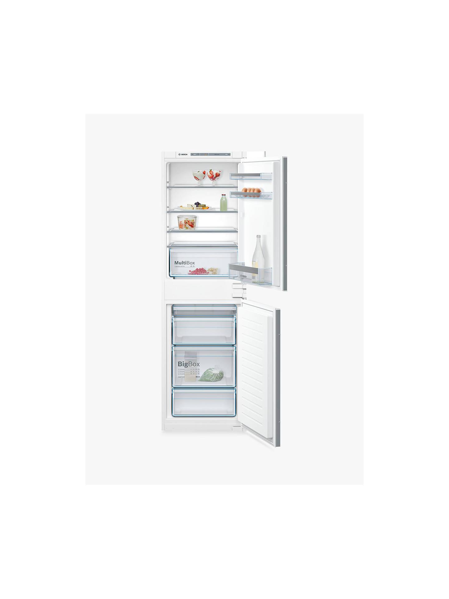 e821809650e3 Buy Bosch KIV85VS30G Integrated Fridge Freezer, A++ Energy Rating, 54cm  Wide Online at johnlewis ...