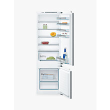 Buy Bosch KIV87VF30G Integrated Fridge Freezer, A++ Energy Rating, 56cm Wide, White Online at johnlewis.com