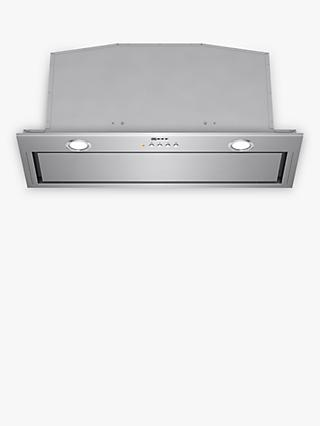 Neff D57MH56N0B 70cm Canopy Cooker Hood, C Energy Rating, Silver