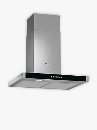 Neff D76MH52N1B Chimney Hood, Stainless Steel