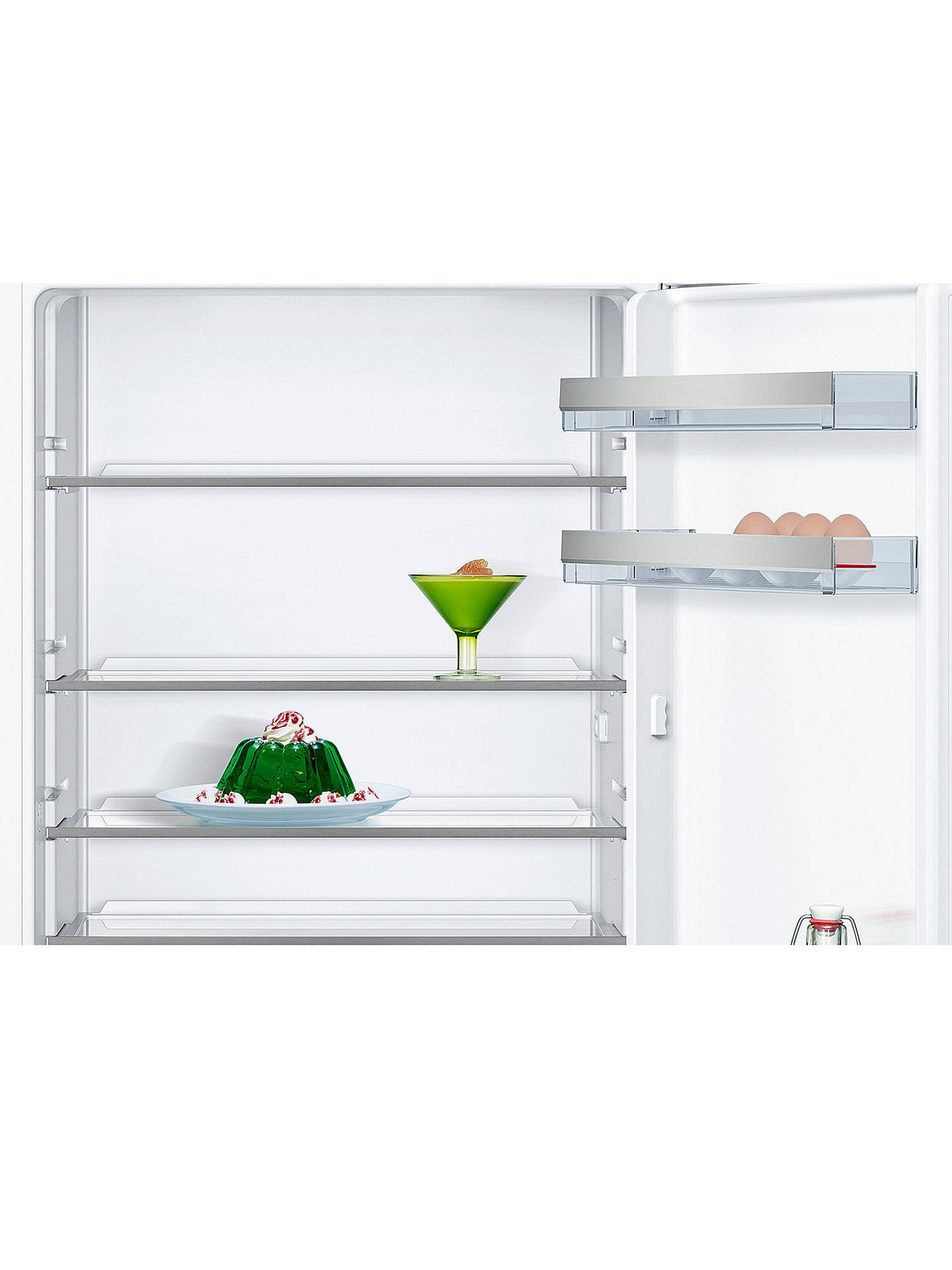 Buy Neff KI1212F30G Integrated Fridge, A++ Energy Rating, 56cm Wide Online at johnlewis.com