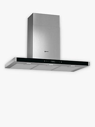 Neff D79MT62N1B Chimney Hood, Stainless Steel