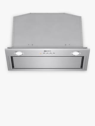 Neff D55MH56N0B 52cm Canopy Cooker Hood, C Energy Rating, Stainless Steel