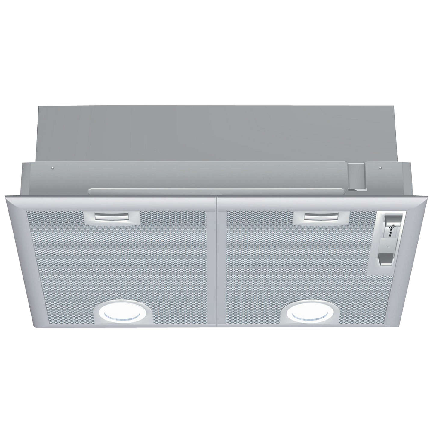 BuyNeff D5655X0GB Canopy Hood, Silver Online at johnlewis.com
