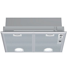 Buy Siemens LB55564GB Integrated Cooker Hood, Stainless Steel Online at johnlewis.com