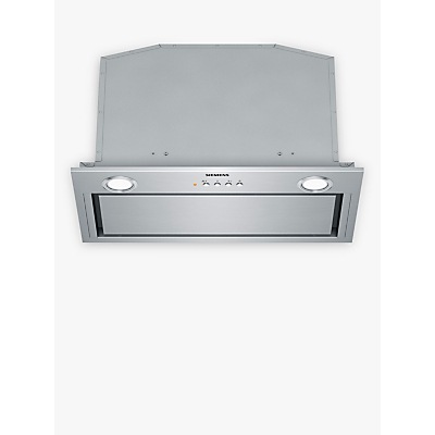 Siemens LB57574GB Integrated Cooker Hood, Stainless Steel