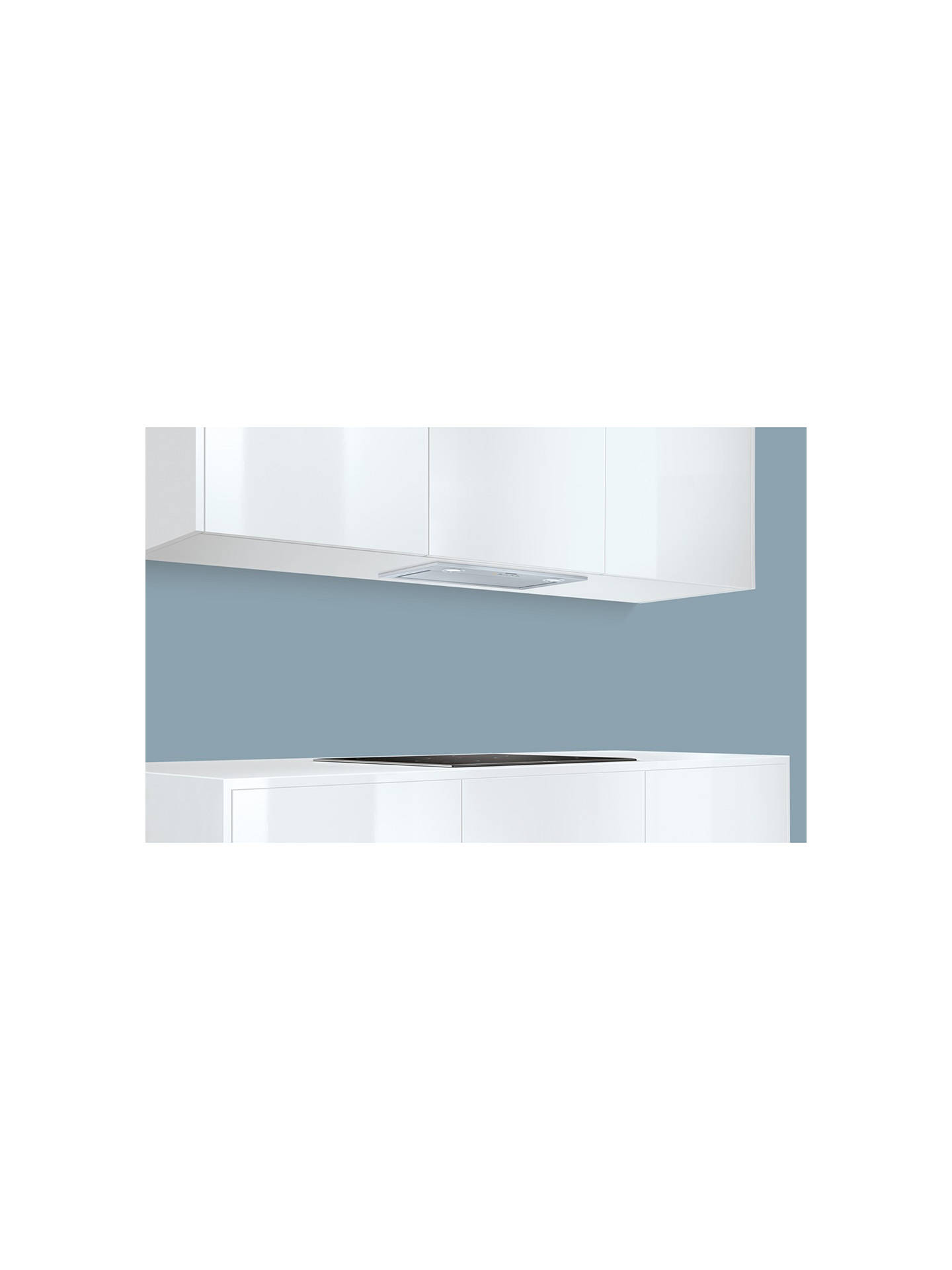 BuySiemens LB57574GB Integrated Cooker Hood, Stainless Steel Online at johnlewis.com