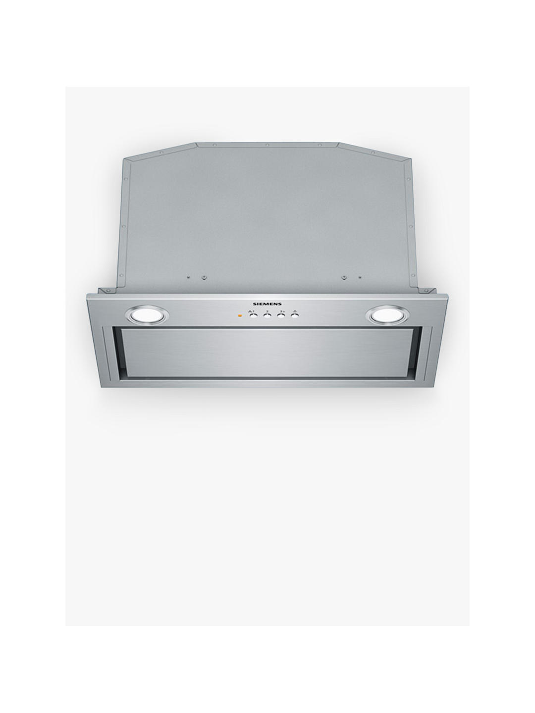 Buy Siemens LB57574GB 52cm Integrated Cooker Hood, C Energy Rating, Stainless Steel Online at johnlewis.com