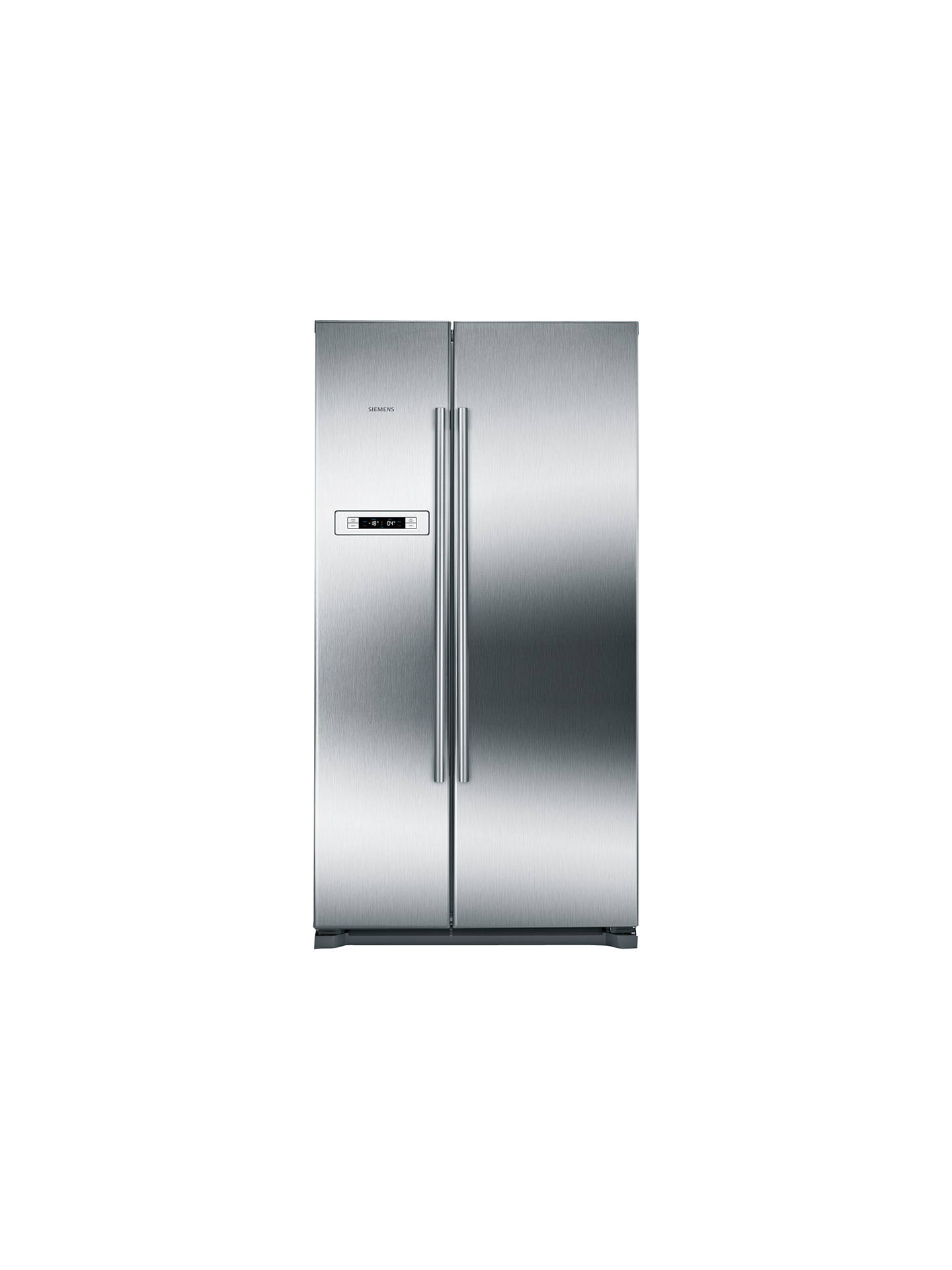 Buy Siemens KA90NVI20G American Style Fridge Freezer, A+ Energy Rating, 90cm Wide, Stainless Steel Online at johnlewis.com