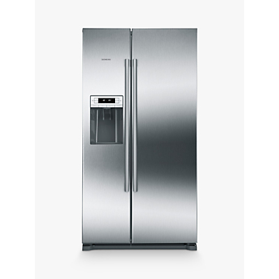 Image of Siemens KA90IVI20G American Style Fridge Freezer, A+ Energy Rating, Stainless Steel