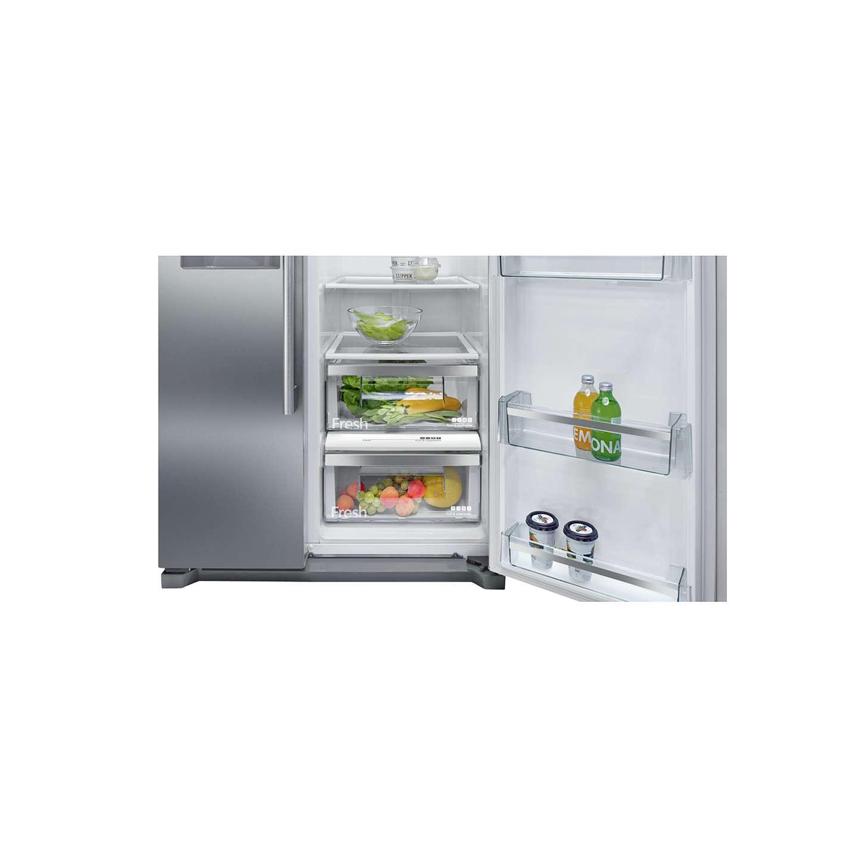 siemens ka90ivi20g american style fridge freezer a. Black Bedroom Furniture Sets. Home Design Ideas