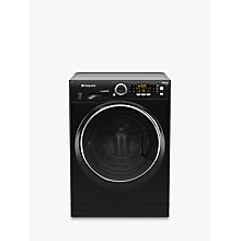 Buy Hotpoint RD966JKDUK Washer Dryer, 9kg Wash/6kg Dry Load, A Energy Rating, 1600rpm Spin, Black Online at johnlewis.com