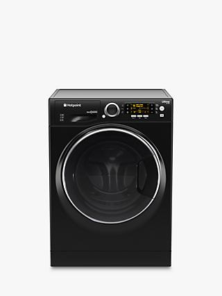Hotpoint RD966JKDUK Washer Dryer, 9kg Wash/6kg Dry Load, A Energy Rating, 1600rpm Spin, Black