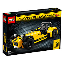 Buy LEGO Ideas 21307 Caterham Seven 620R Sports Car Online at johnlewis.com