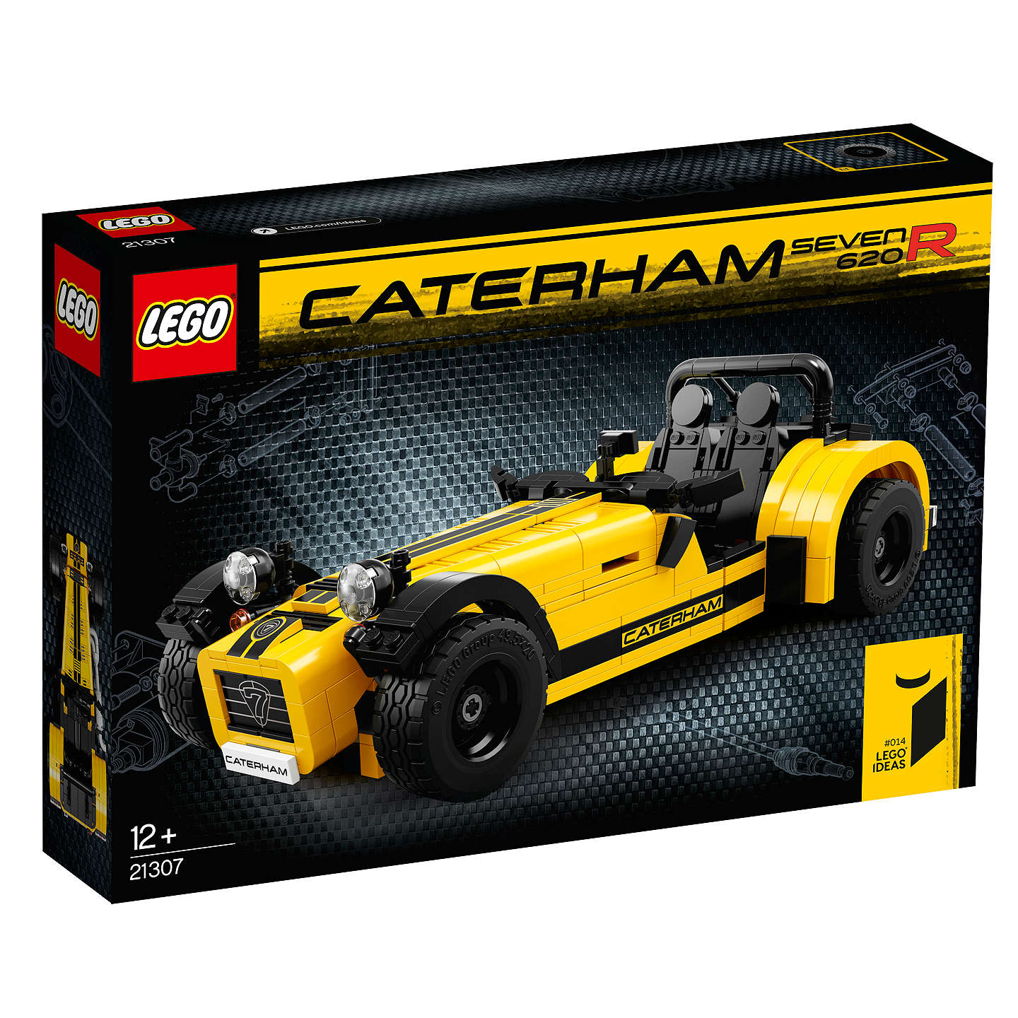 BuyLEGO Ideas 21307 Caterham Seven 620R Sports Car Online At Johnlewis.com  ...