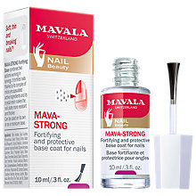 Buy MAVALA Mava-Strong Fortifying Base Coat, 10ml Online at johnlewis.com