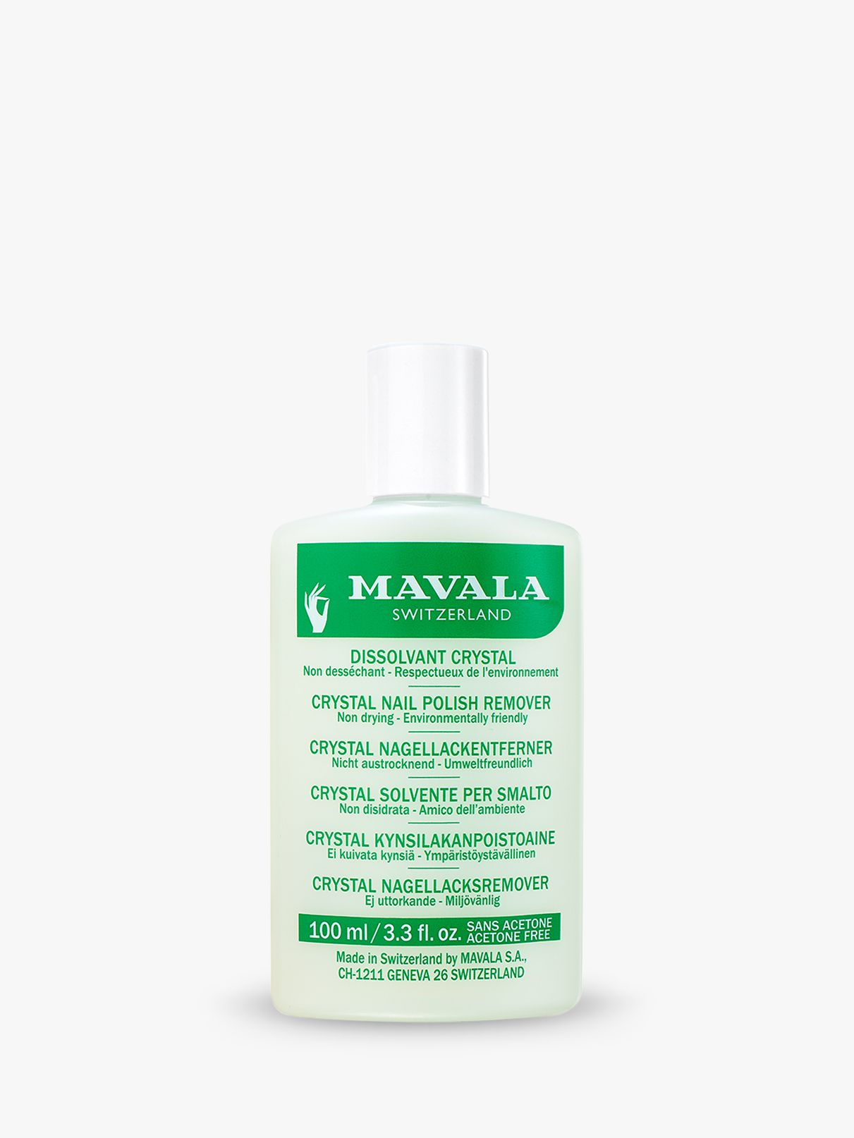 Mavala Mavala Crystal Nail Polish Remover, 100ml