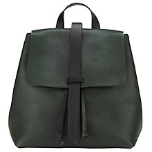 Buy Jigsaw Blake Leather Backpack Online at johnlewis.com