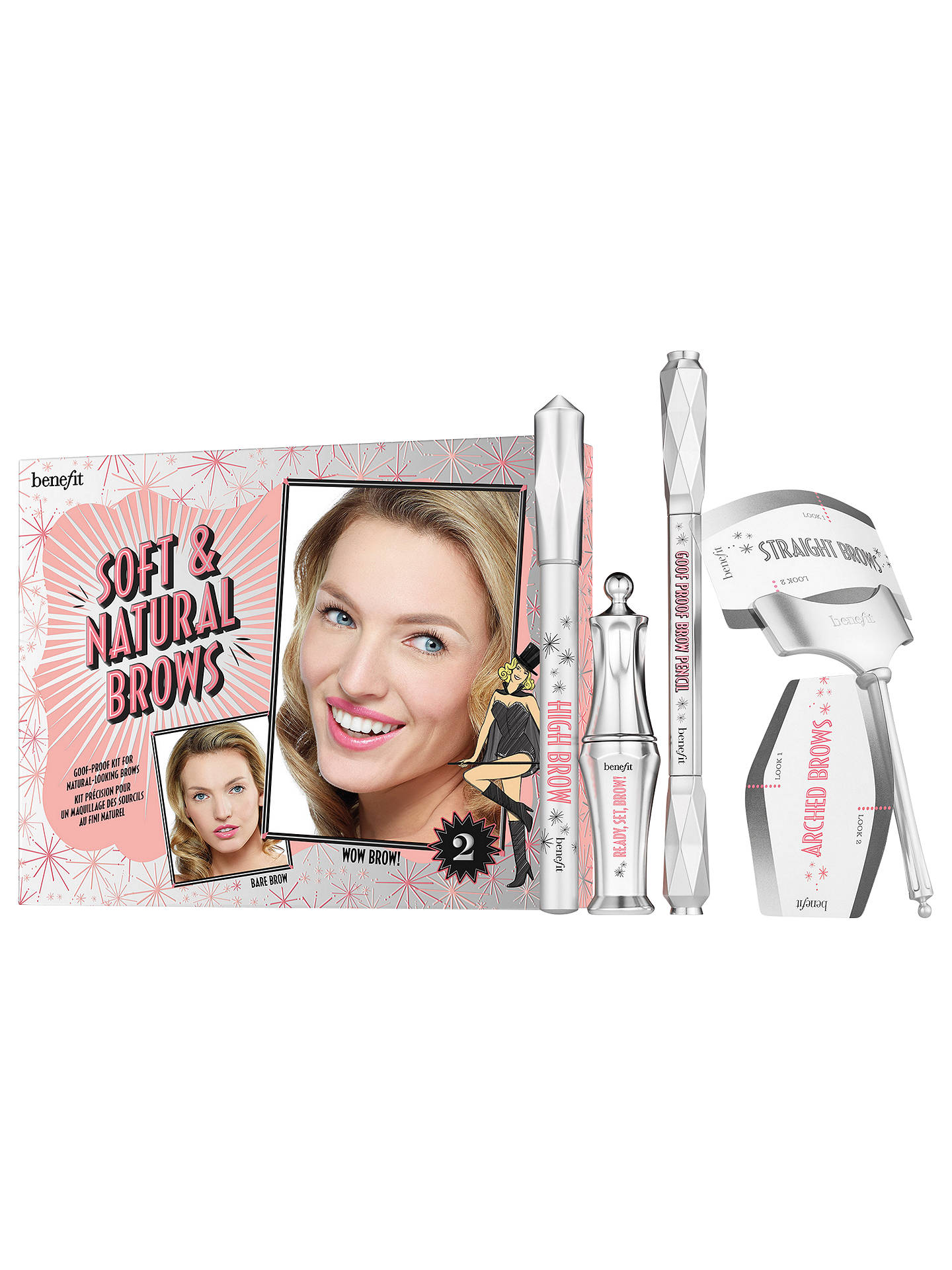 01f303318c3 Buy Benefit Soft & Natural Brow Kit, Light 02 Online at johnlewis. ...