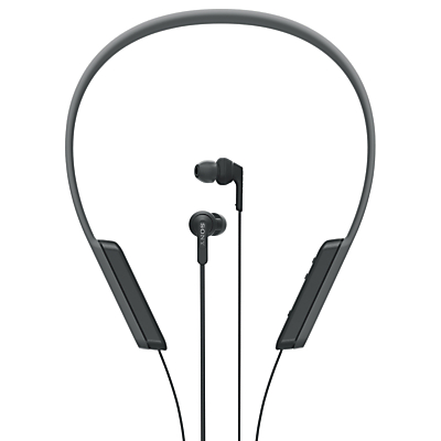 Sony MDR-XB70BT Extra Bass Bluetooth NFC Wireless Wraparound In-Ear Headphones with Remote, Mic & Volume Control