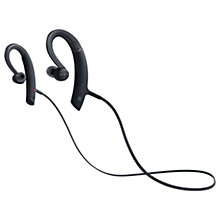 Buy Sony MDR-XB80BS Extra Bass Bluetooth Splash Resistant Wireless Sports In-Ear Headphones with Built-In Mic, Remote & Volume Control Online at johnlewis.com