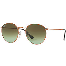 Buy Ray-Ban RB3447 Round Sunglasses Online at johnlewis.com