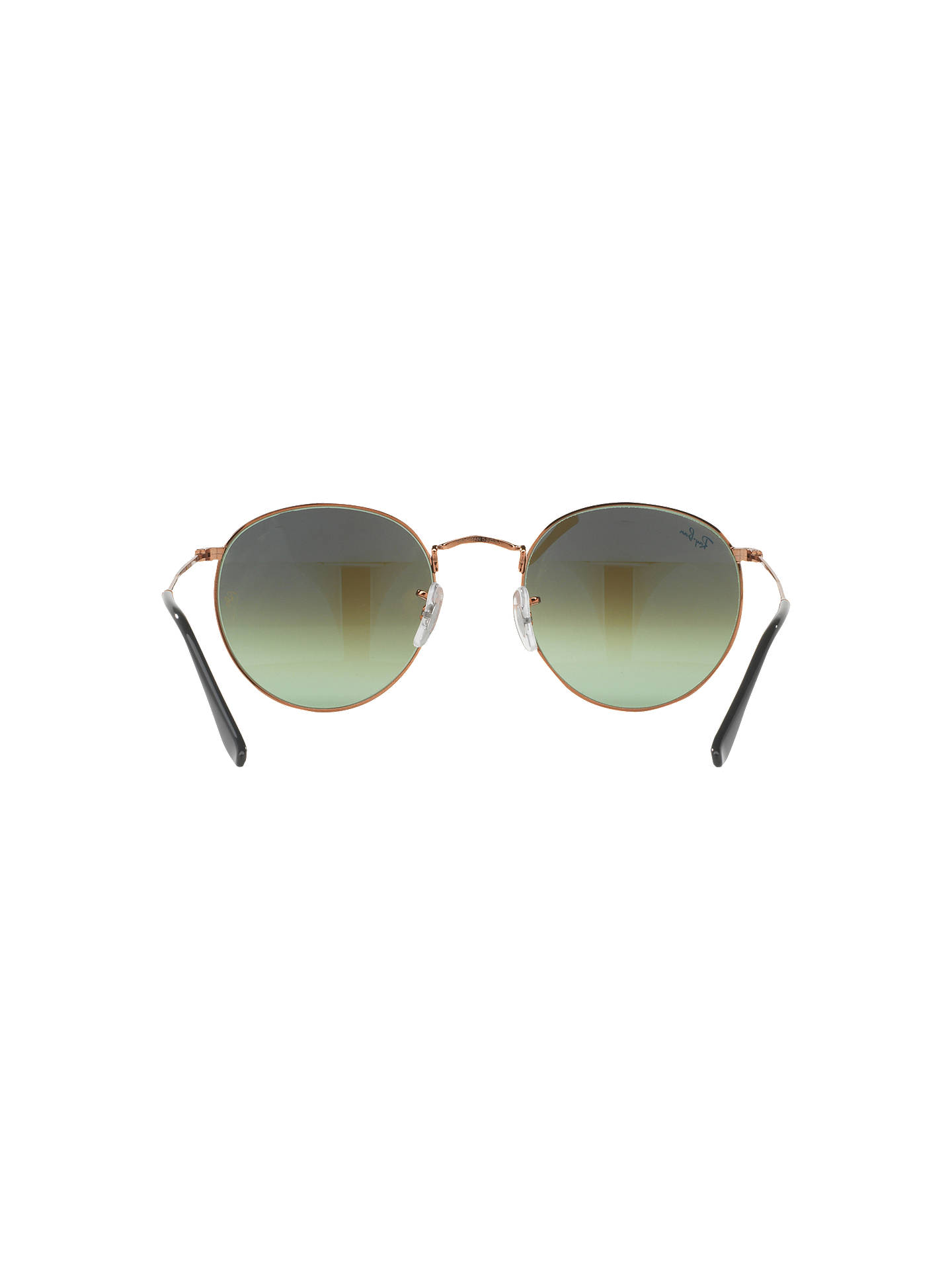 32107a96fc Ray-Ban RB3447 Round Sunglasses at John Lewis   Partners