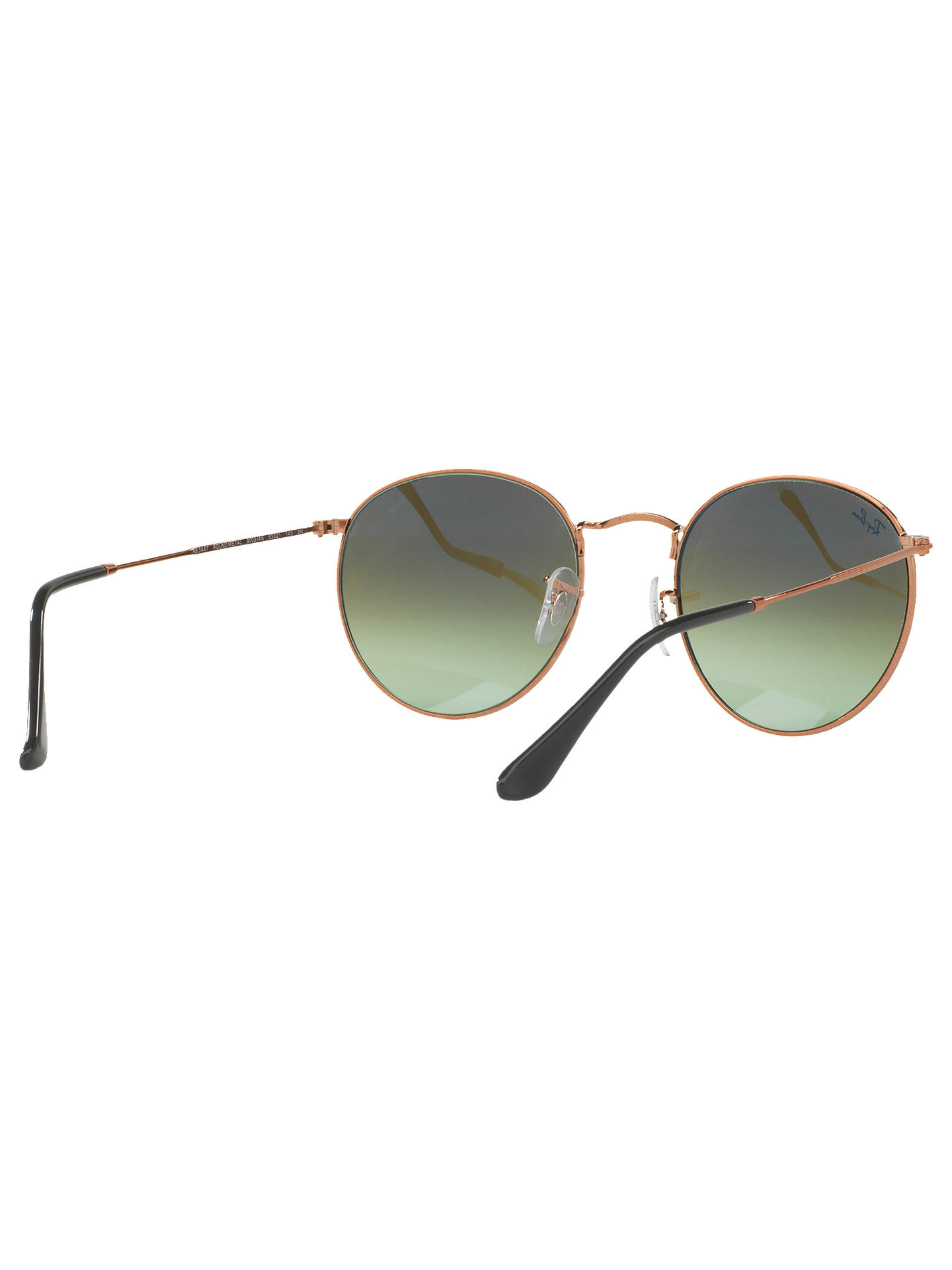 e1916ef954 Ray-Ban RB3447 Round Sunglasses at John Lewis   Partners