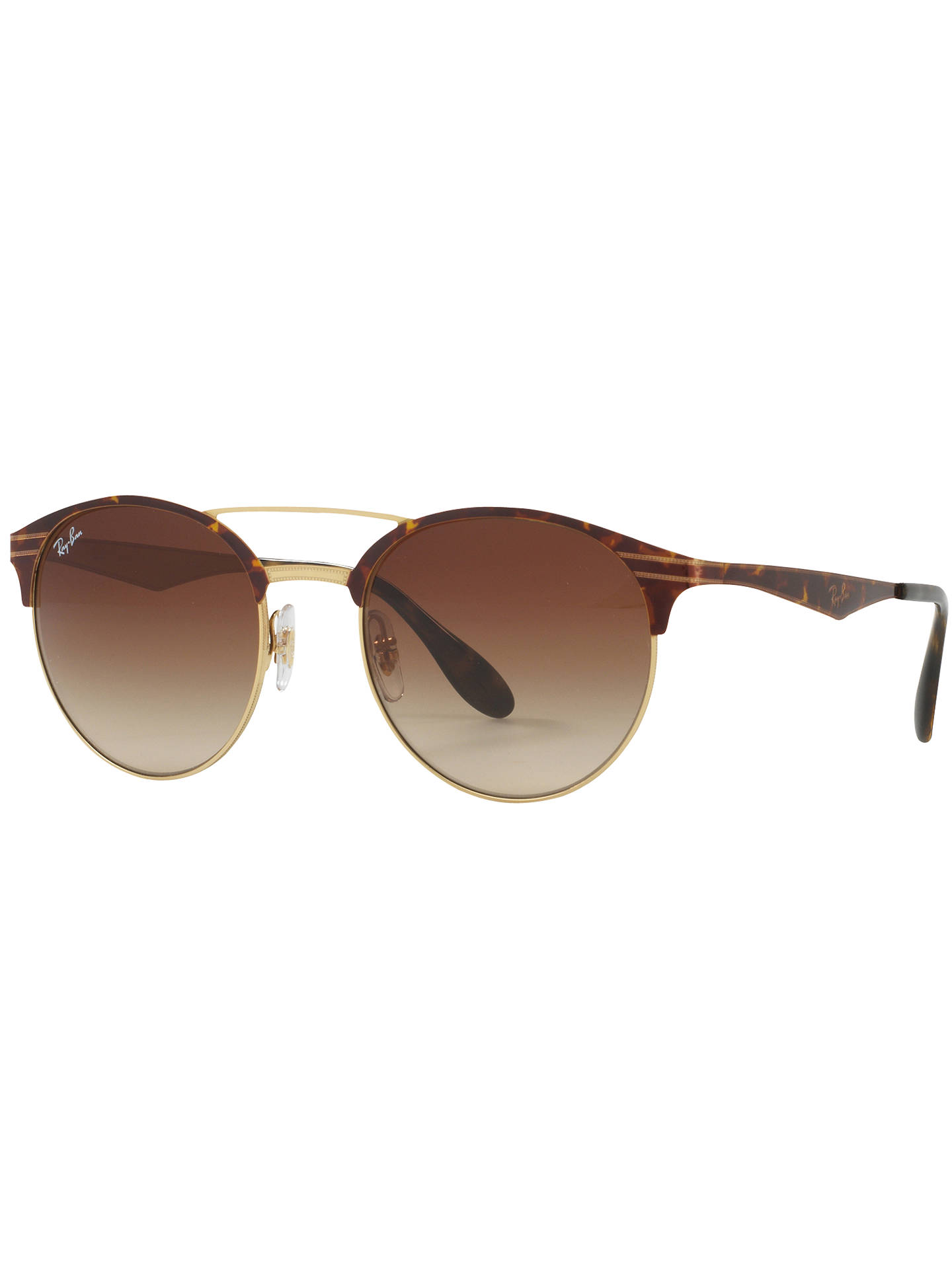 a334db48f90 Ray-Ban RB3545 Oval Sunglasses at John Lewis   Partners