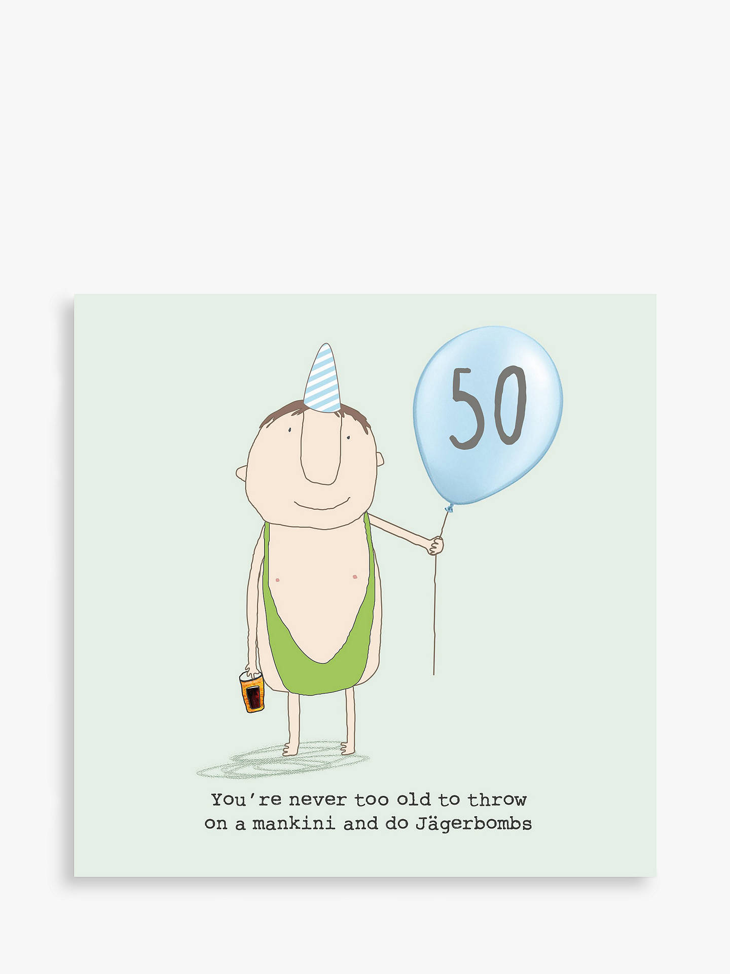Buy Rosie Made A Thing 50th Birthday Card Online At Johnlewis