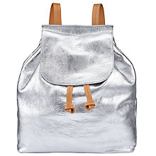 Buy John Lewis Morgan Leather Backpack Online at johnlewis.com